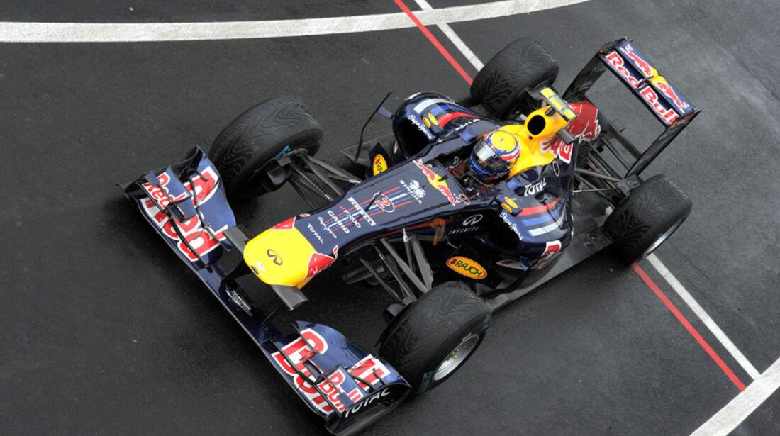 Mark Webber - GP England - Training - Silverstone - 8. Juli 2011