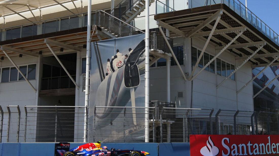 Mark Webber - GP Europa - Qualifying - 25. Juni 2011