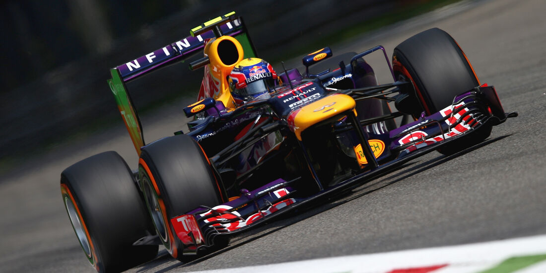 Mark Webber - GP Italien 2013