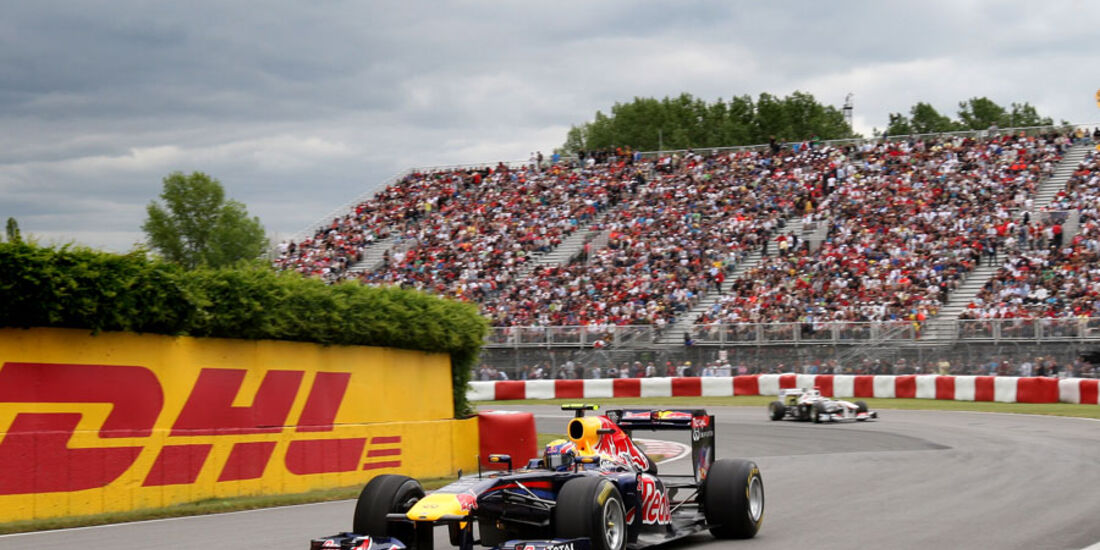 Mark Webber GP Kanada 2011