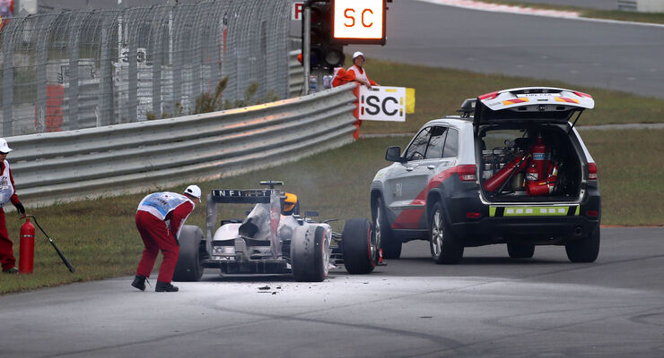 Mark Webber GP Korea 2013