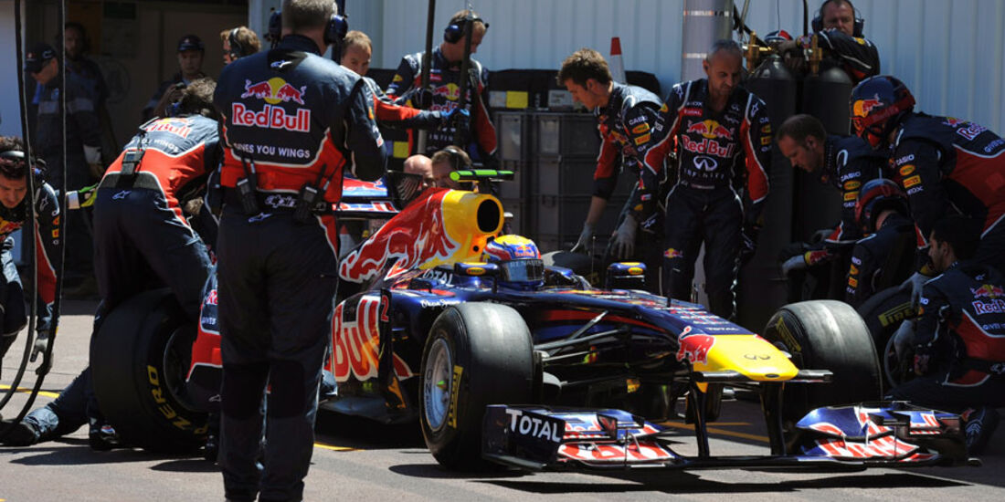 Mark Webber GP Monaco 2011
