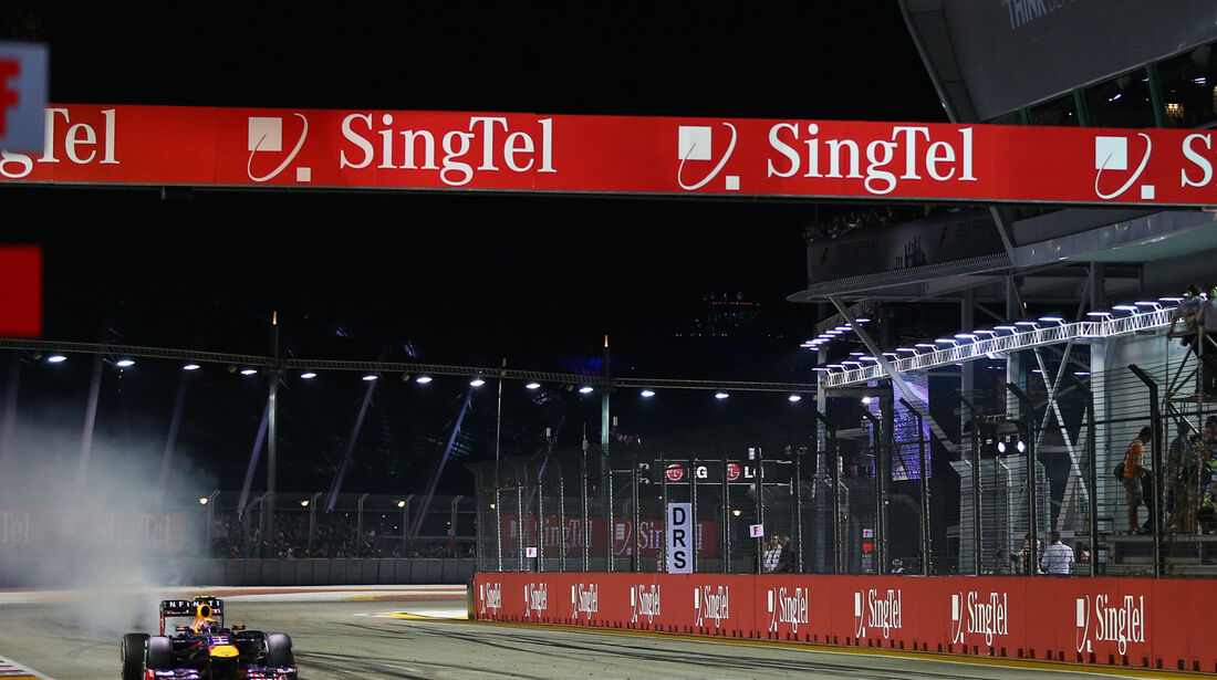 Mark Webber - GP Singapur 2013