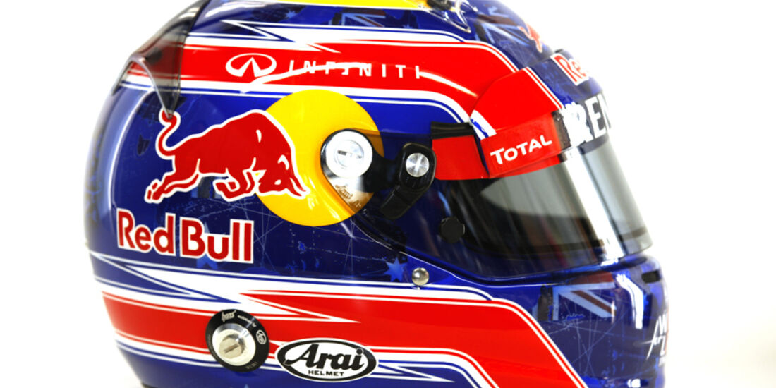 Mark Webber Helm 2012