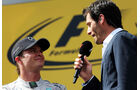 Mark Webber & Nico Rosber - GP Österreich 2014