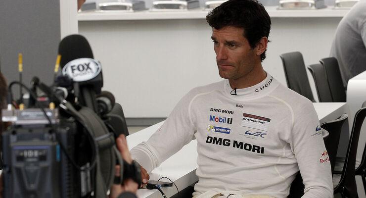 Mark Webber - Porsche - 24h-Rennen - Le Mans 2014