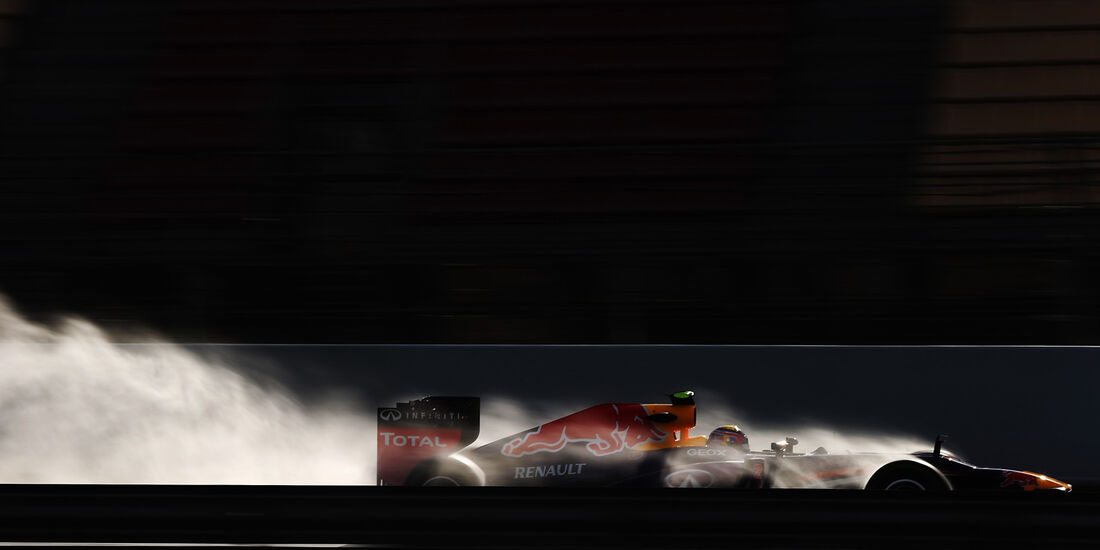 Mark Webber Red Bull F1 Test Barcelona 2013