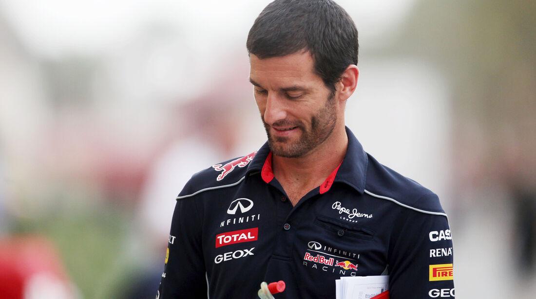 Mark Webber - Red Bull - Formel 1 - GP Bahrain - 18. April 2013
