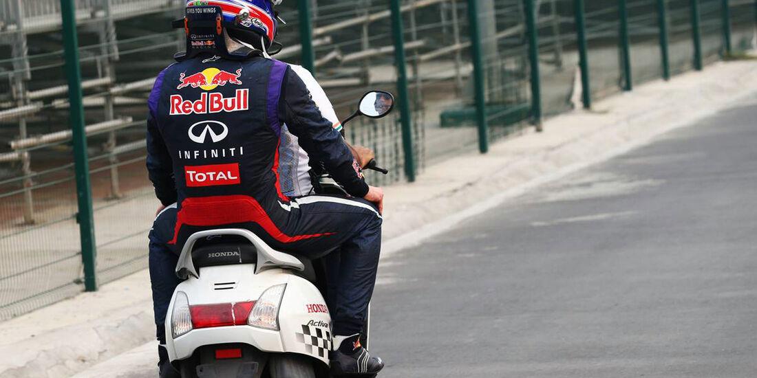 Mark Webber - Red Bull - Formel 1 - GP Indien - 27. Oktober 2013