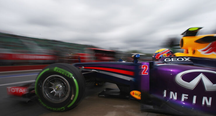 Mark Webber - Red Bull - Formel 1 - GP Kanada - 7. Juni 2013