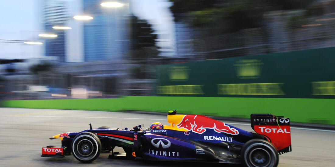 Mark Webber - Red Bull - Formel 1 - GP Singapur - 20. September 2013