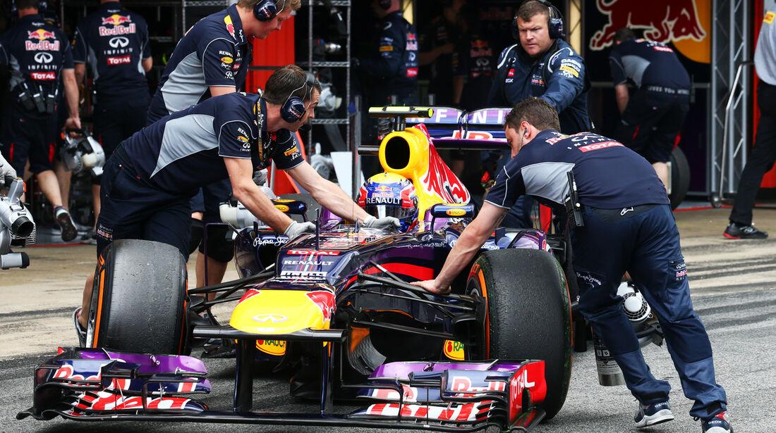 Mark Webber - Red Bull - Formel 1 - GP Spanien - 11. Mai 2013