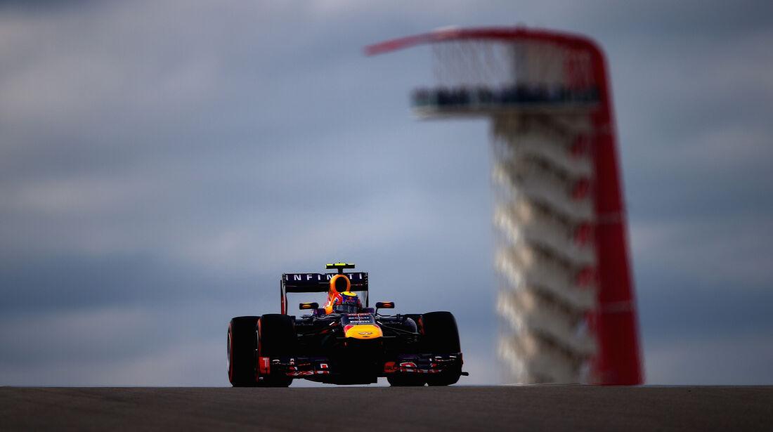 Mark Webber - Red Bull - Formel 1 - GP USA - 16. November 2013