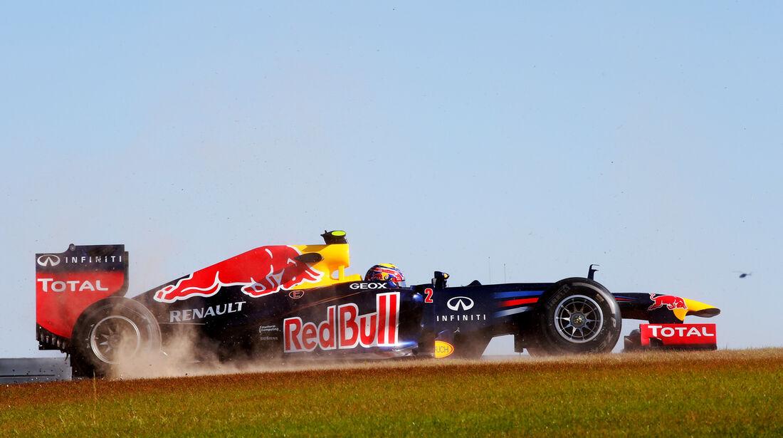 Mark Webber - Red Bull - Formel 1 - GP USA - Austin - 16. November 2012