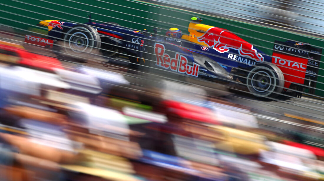 Mark Webber - Red Bull - GP Australien - Melbourne - 17. März 2012