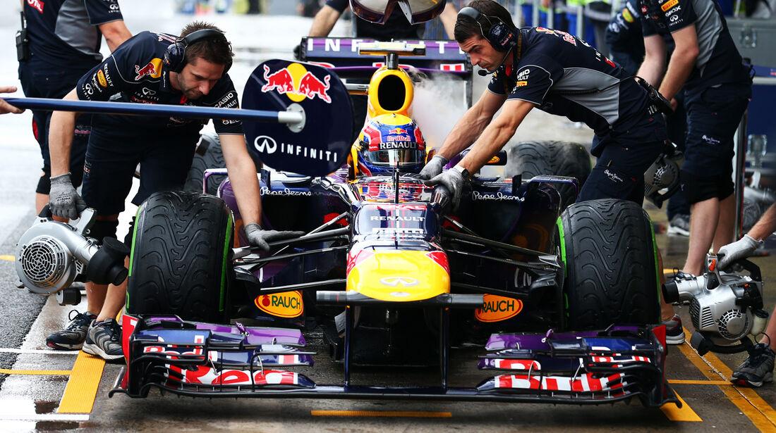Mark Webber - Red Bull - GP Brasilien - 23. November 2013