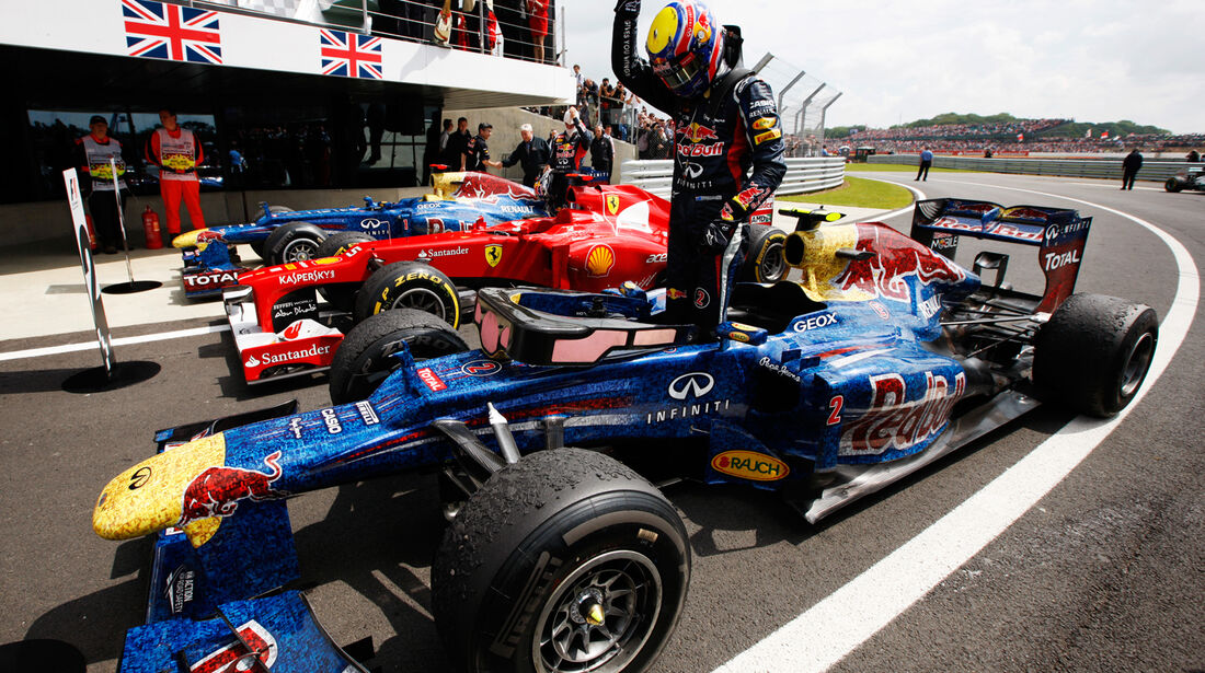 Mark Webber Red Bull GP England 2012