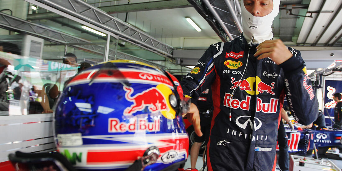 Mark Webber - Red Bull - GP Malaysia - Training - 23. März 2012
