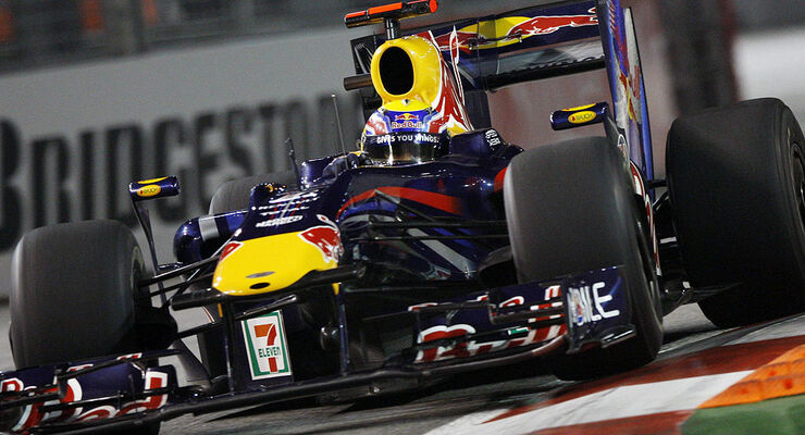 Mark Webber Red Bull Singapur 2009