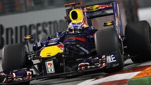 Mark Webber Red Bull Singapur 2009