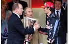 Mark Webber und Prinz Albert von Monaco