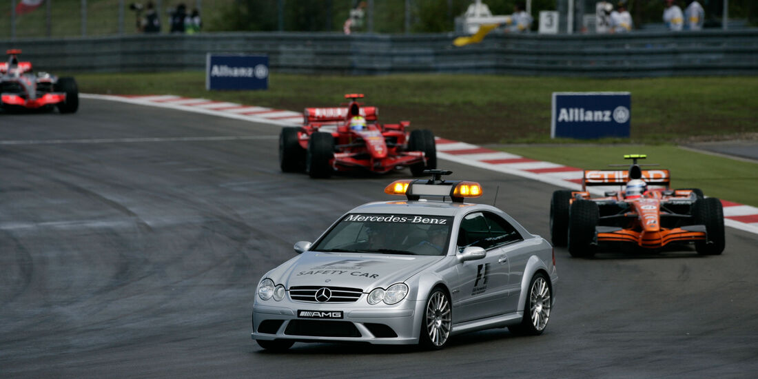 Markus Winkelhock - Spyker - GP Europa 2007