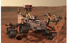 Mars Sonde Curiosity NASA 2012