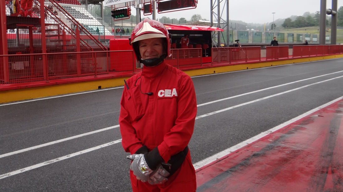 Marshall - Formel 1-Test - Mugello - 1. Mai 2012