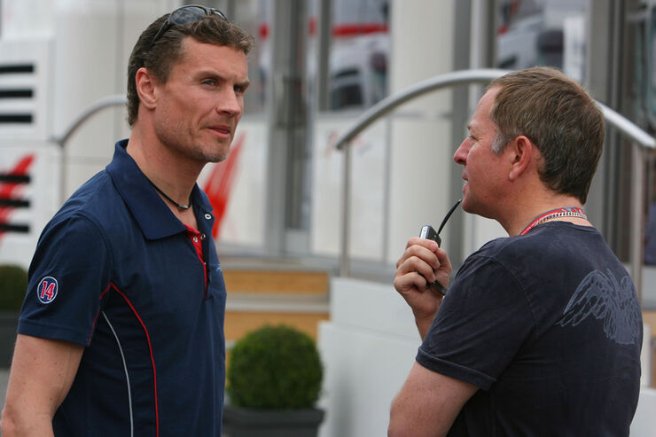 Martin Brundle & David Coulthard