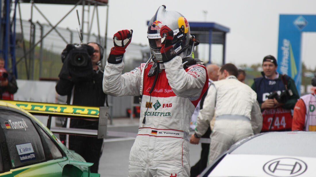 Martin Tomczyk DTM Oschersleben 2011
