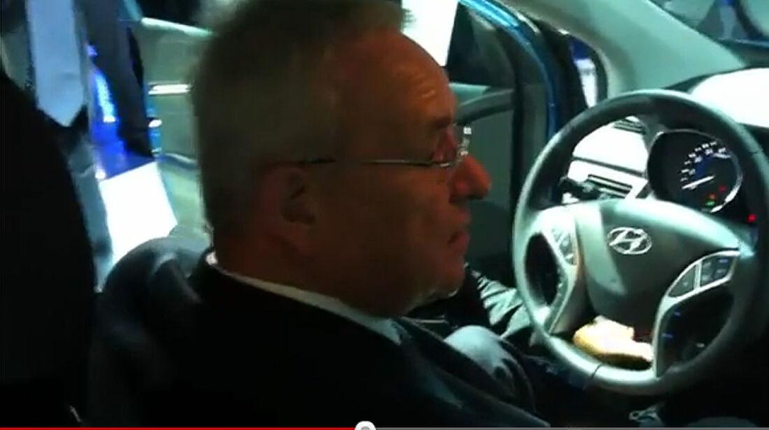 Martin Winterkorn Youtube Hyundai IAA