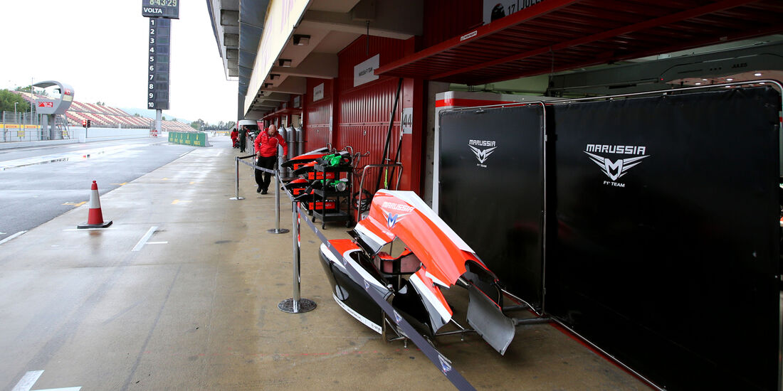 Marussia - F1 Test Barcelona (1) - 13. Mai 2014