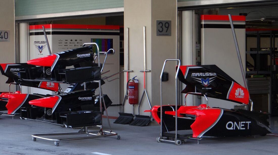Marussia - Formel 1 - GP Abu Dhabi - 01. November 2012