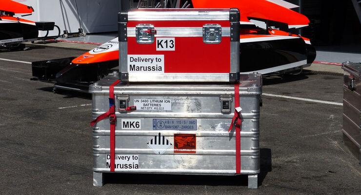 Marussia - Formel 1 - GP Belgien - Spa-Francorchamps - 20. August 2014