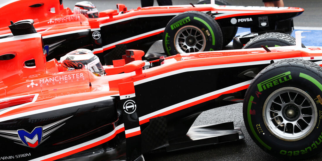 Marussia - Formel 1 - GP Belgien - Spa-Francorchamps - 24. August