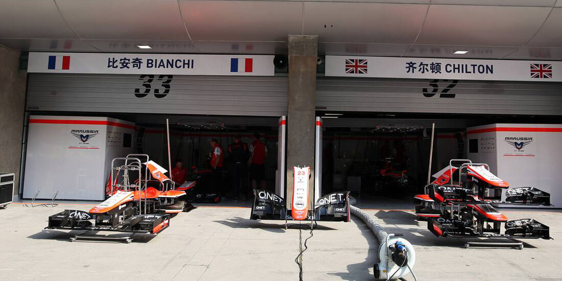 Marussia - Formel 1 - GP China - 12. April 2013