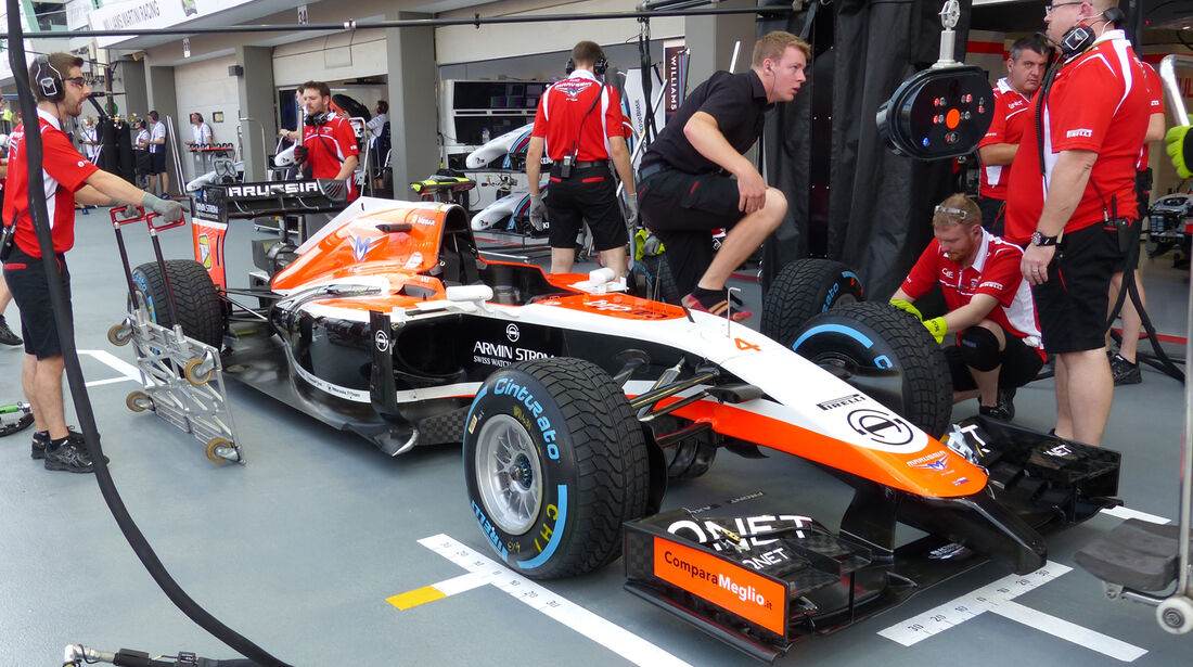 Marussia - Formel 1 - GP Singapur - 19. September 2014