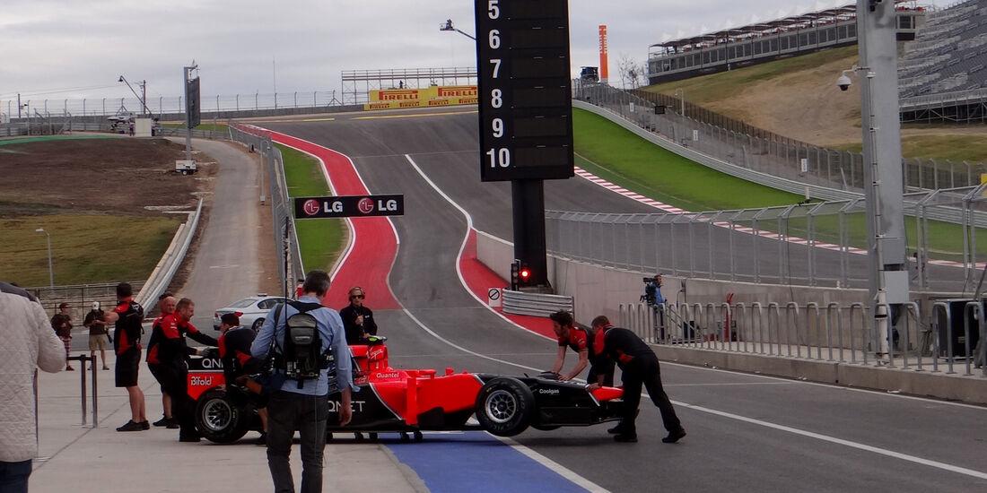 Marussia - Formel 1 - GP USA - Austin - 15. November 2012