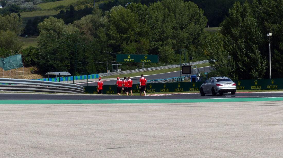 Marussia - Formel 1 - GP Ungarn - 24. Juli 2014
