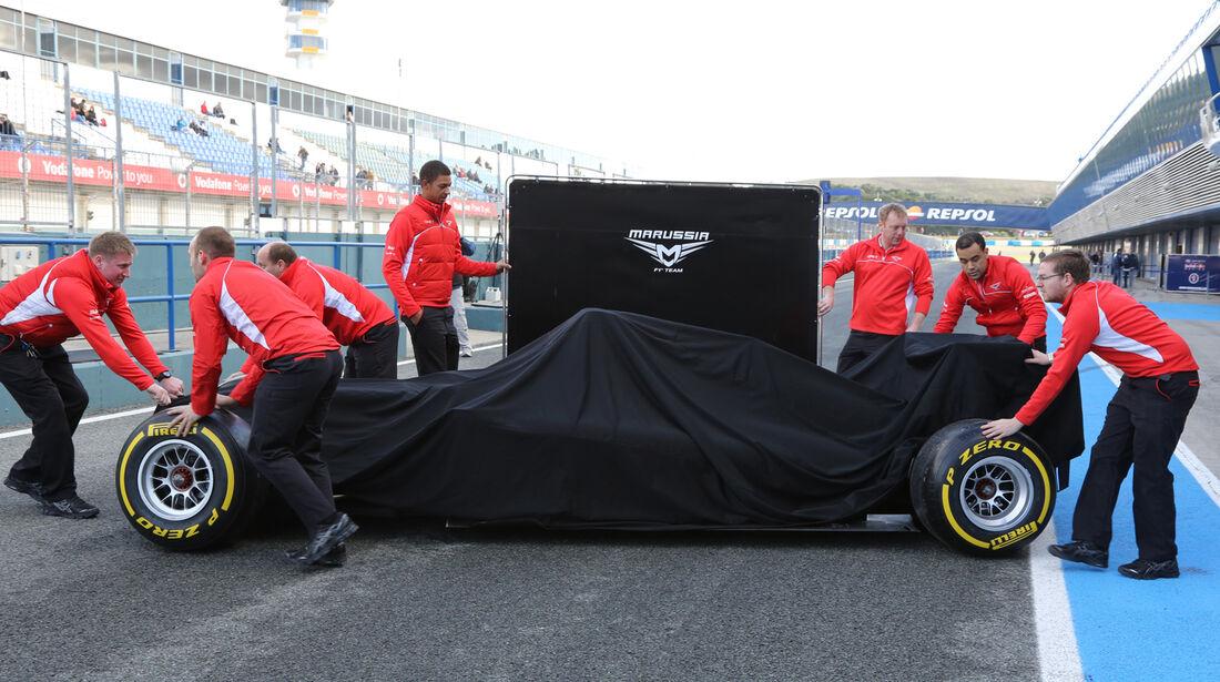 Marussia - Formel 1 - Jerez - Test - 29. Januar 2014