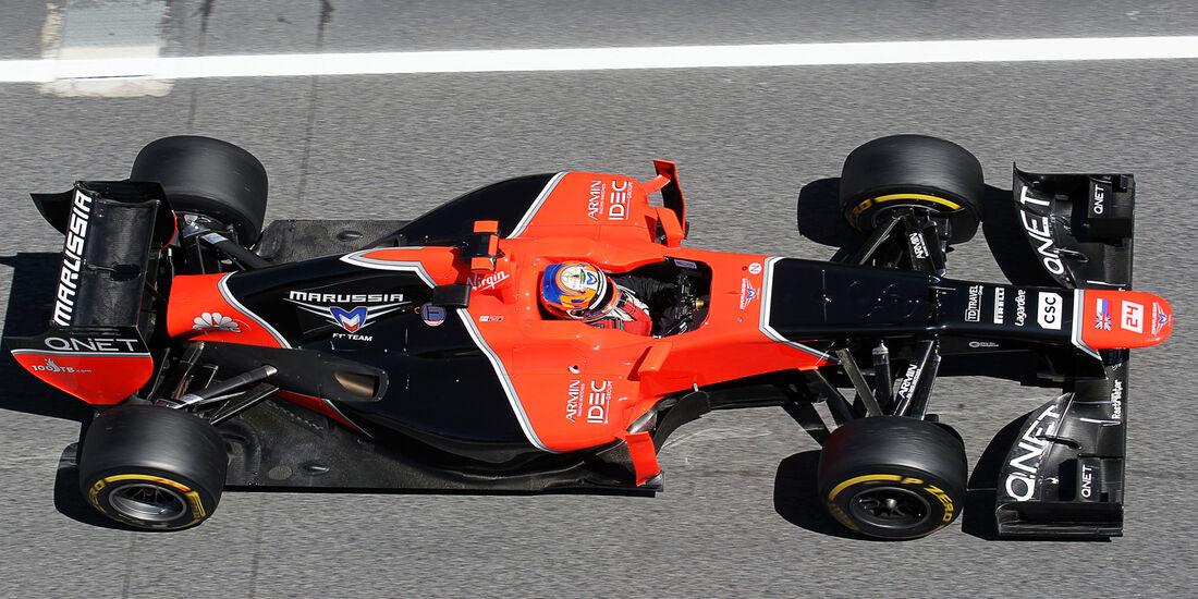 Marussia Formel 1 Technik GP Spanien 2012