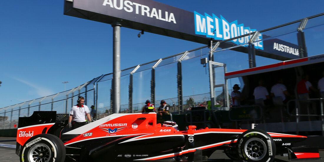 Marussia GP Australien 2013