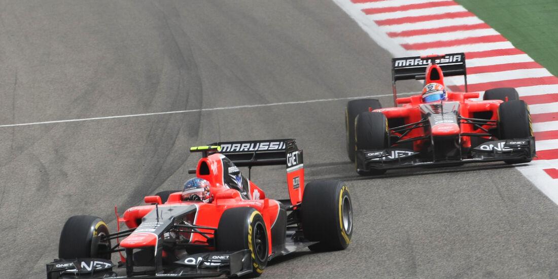 Marussia GP Bahrain 2012
