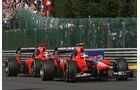 Marussia GP Belgien 2012