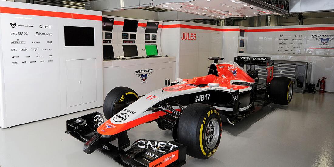 Marussia - GP Russland 2014