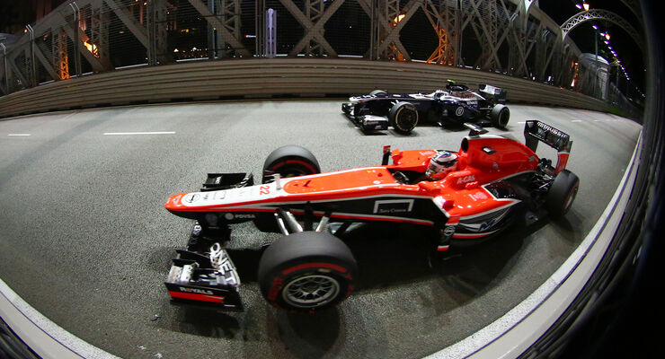 Marussia GP Singapur 2013