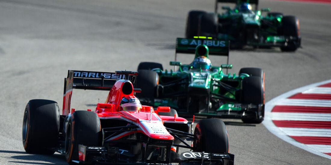 Marussia - GP USA 2013