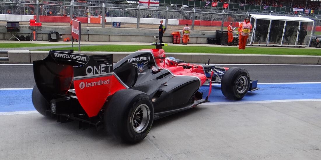 Marussia Technik GP England 2012