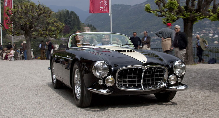 Maserati, A6GCS, Spider, Frua, 1955