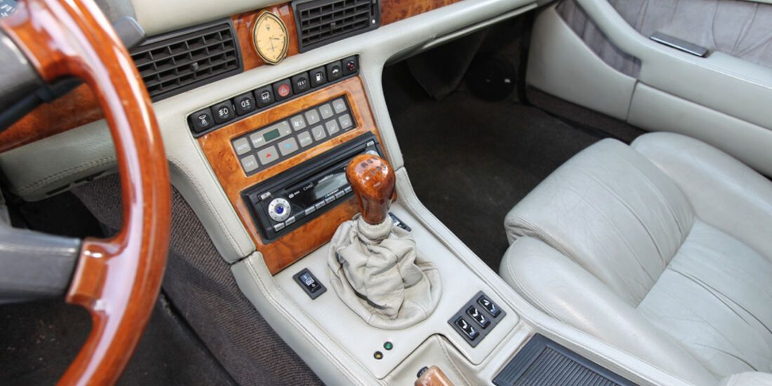 Maserati Biturbo 228, Mittelkonsole
